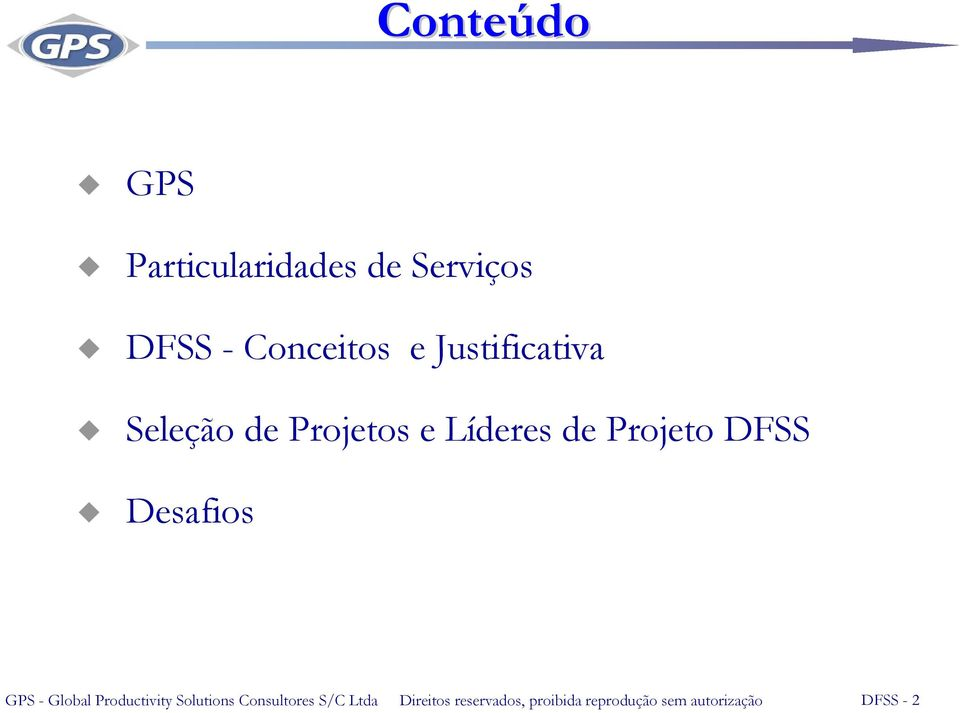 Desafios GPS - Global Productivity Solutions Consultores S/C