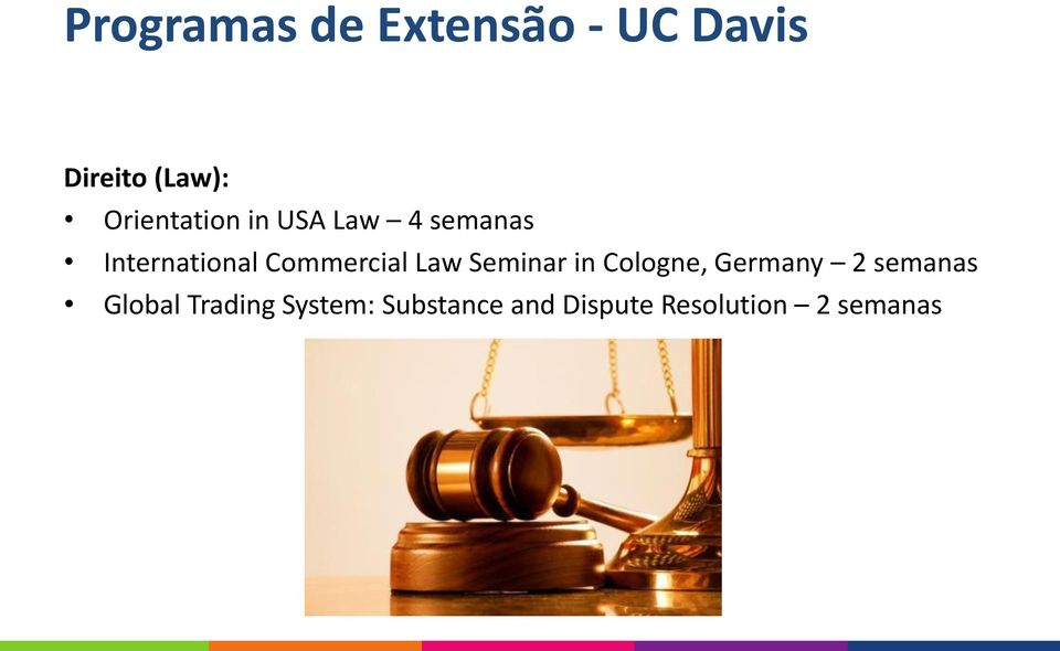 Commercial Law Seminar in Cologne, Germany 2 semanas