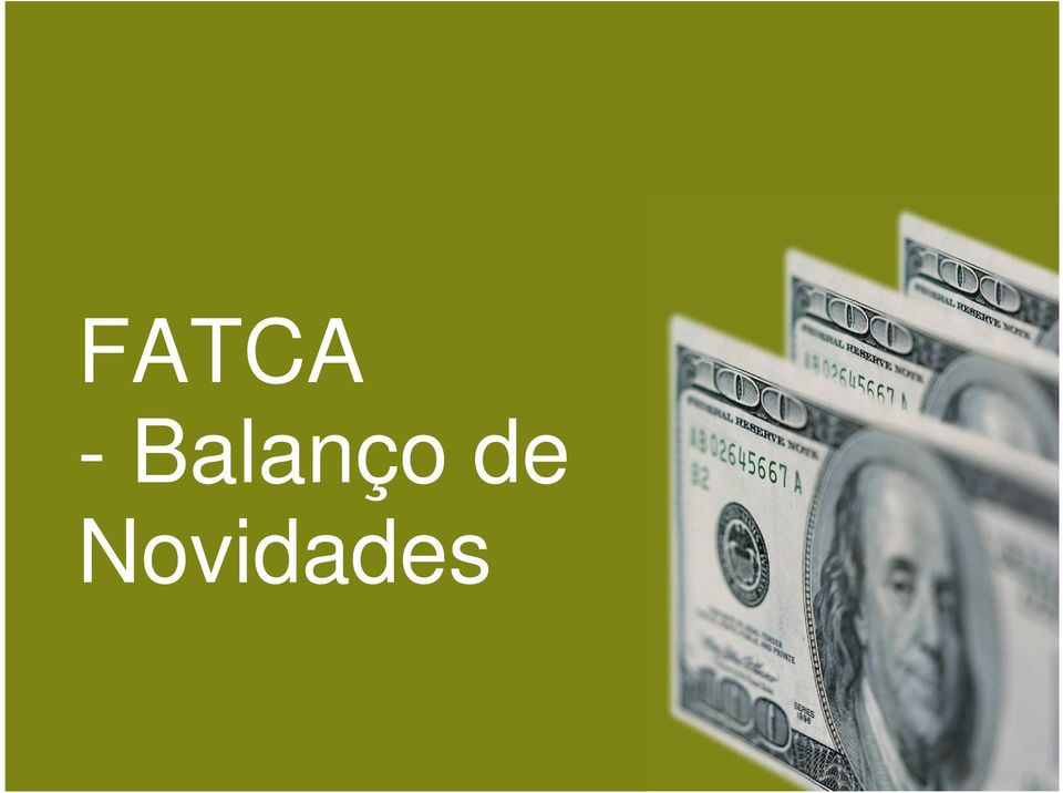 FATCA and Voluntary Disclosure
