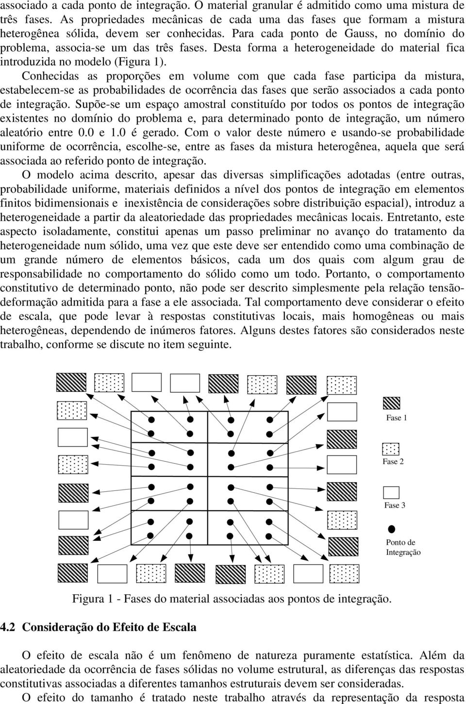Desta forma a heterogeneidade do material fica introduzida no modelo (Figura 1).