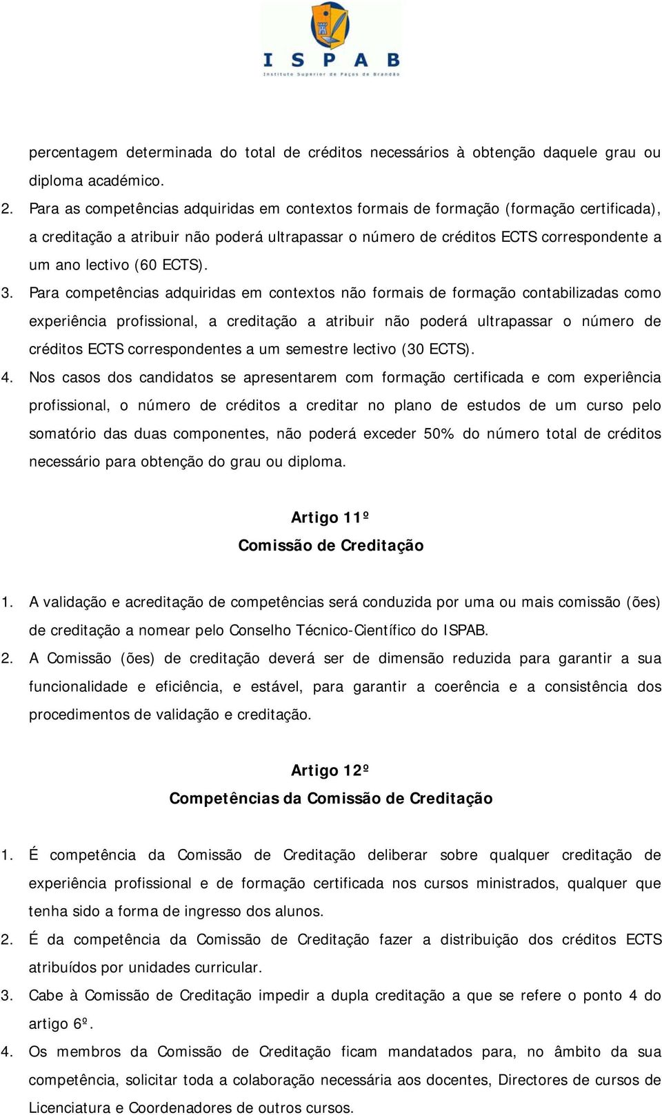 ECTS). 3.