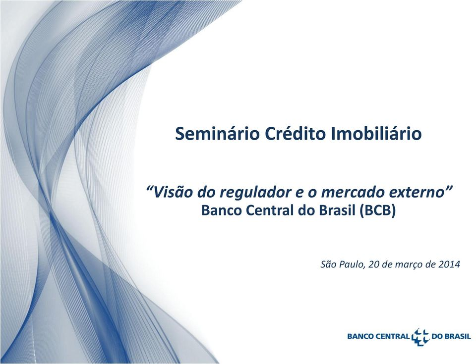 externo Banco Central do Brasil