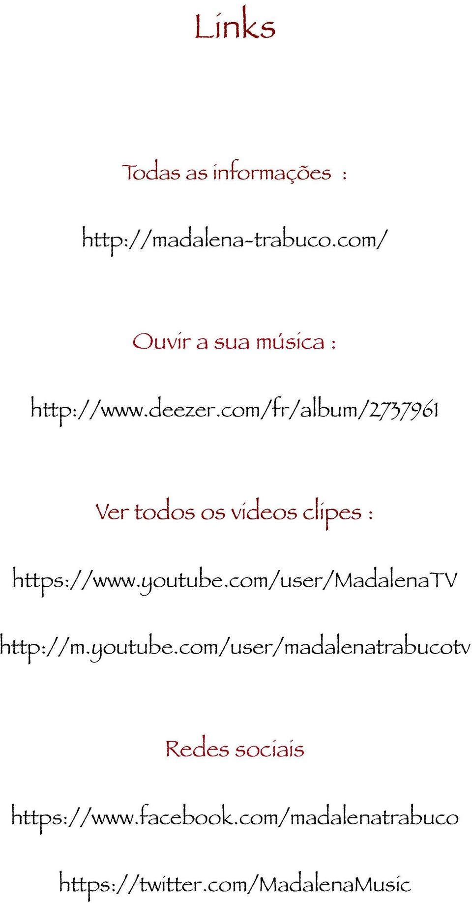 com/fr/album/2737961 Ver todos os videos clipes : https://www.youtube.
