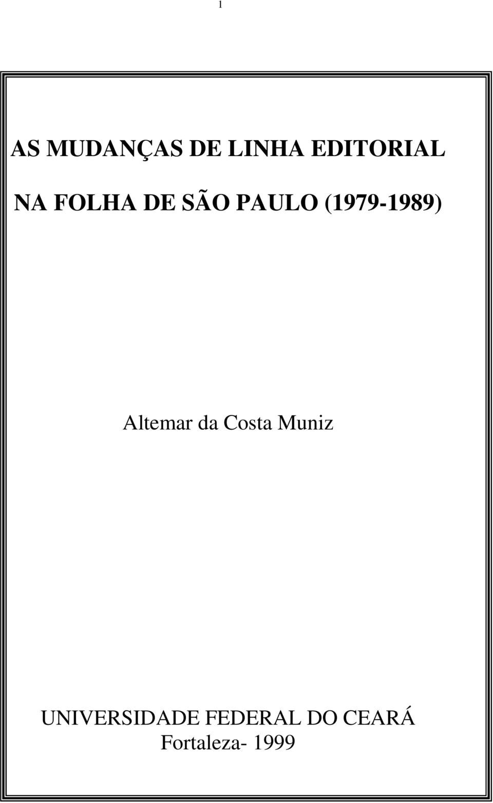 Altemar da Costa Muniz
