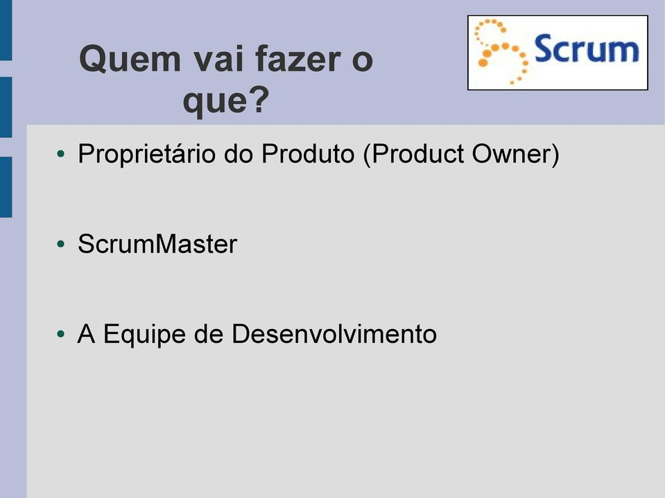 (Product Owner)
