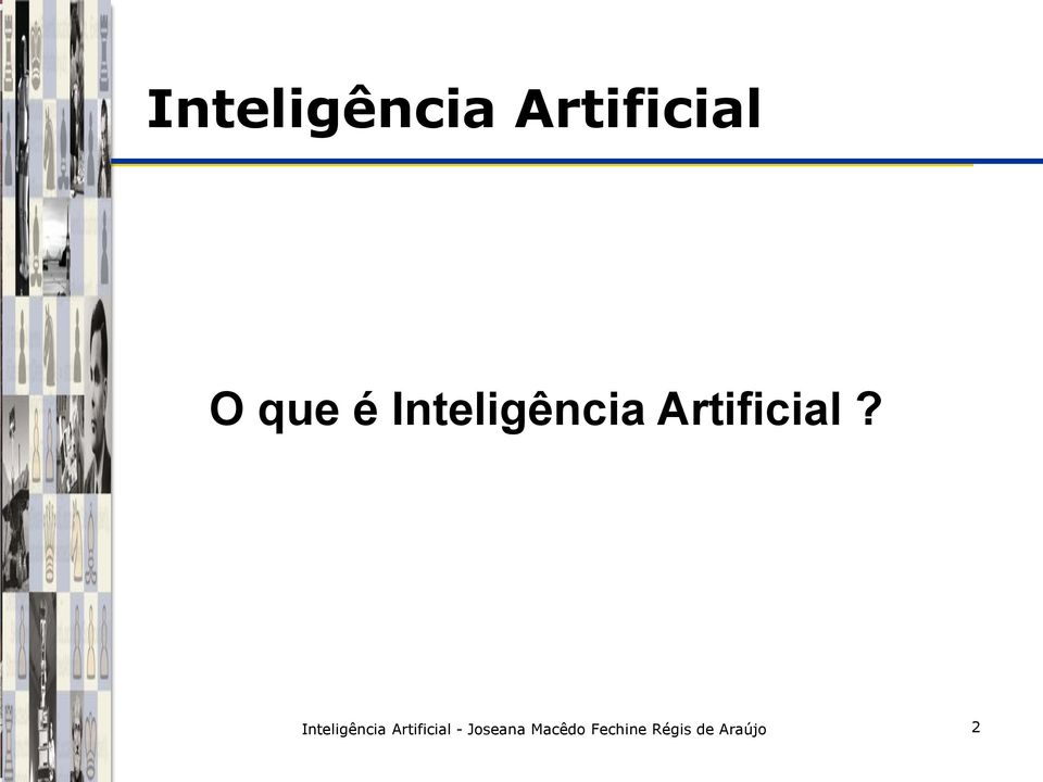 Inteligência Artificial -