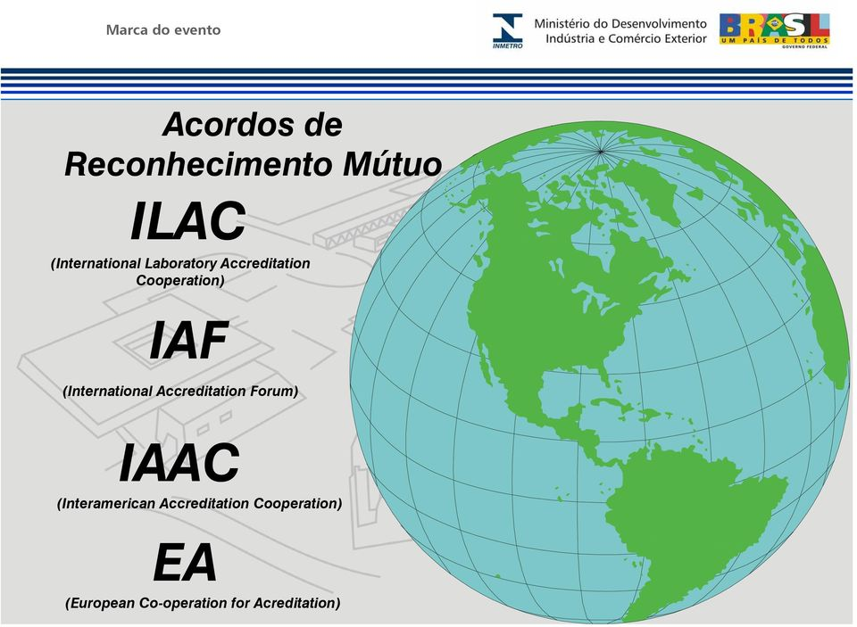 (International Accreditation Forum) IAAC