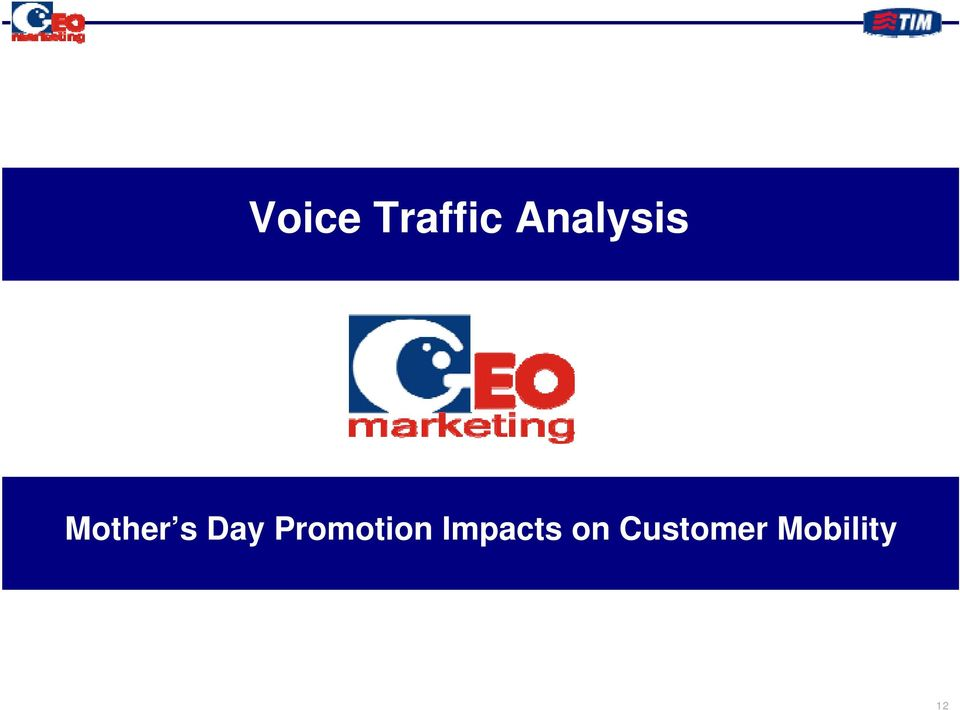 Day Promotion Impacts on Customer
