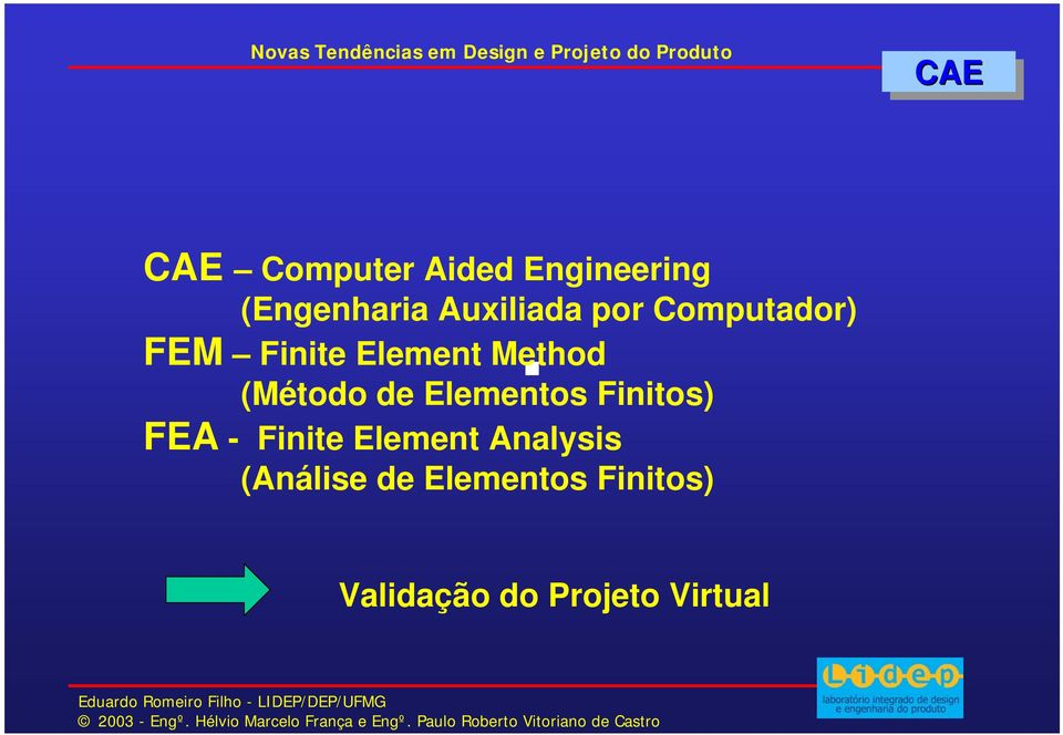(Método de Elementos Finitos) FEA - Finite Element