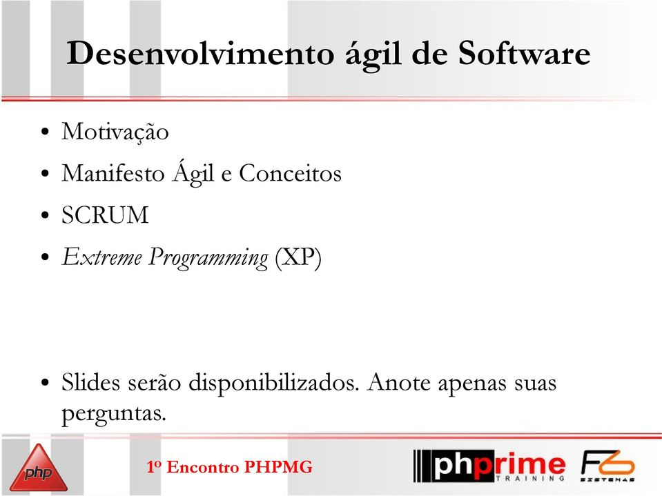 SCRUM Extreme Programming (XP) Slides