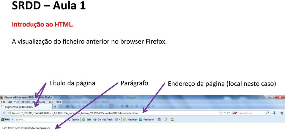 no browser Firefox.