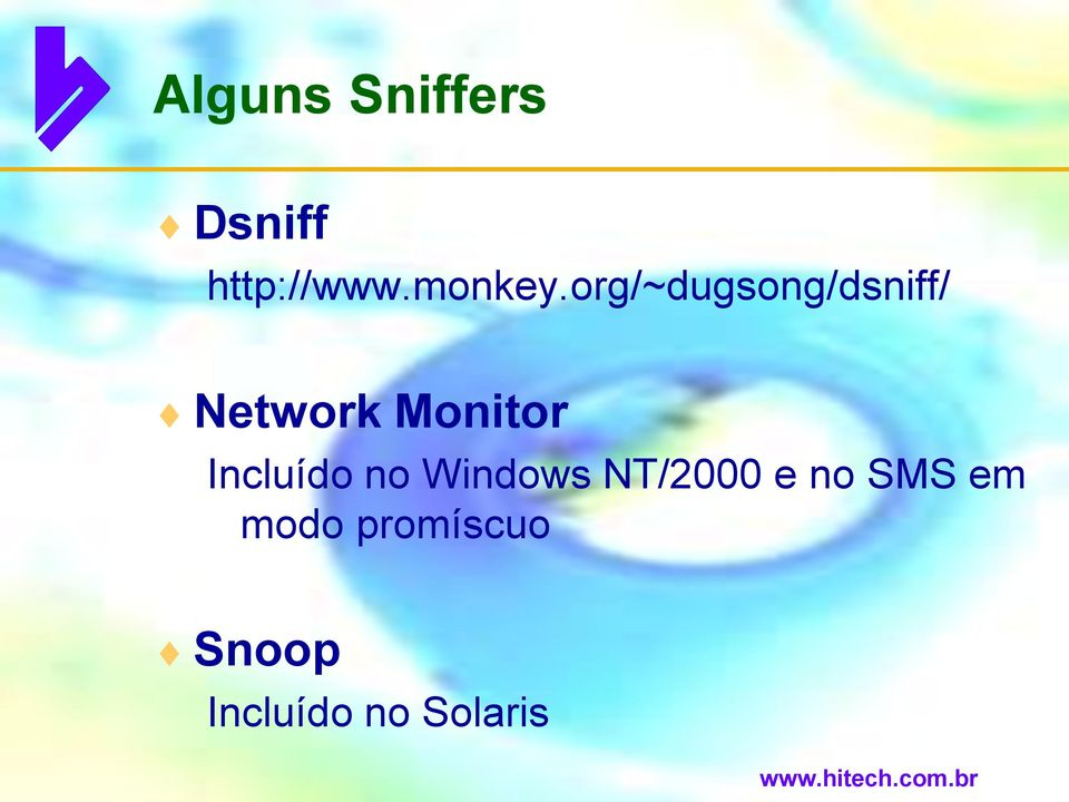 org/~dugsong/dsniff/ Network Monitor