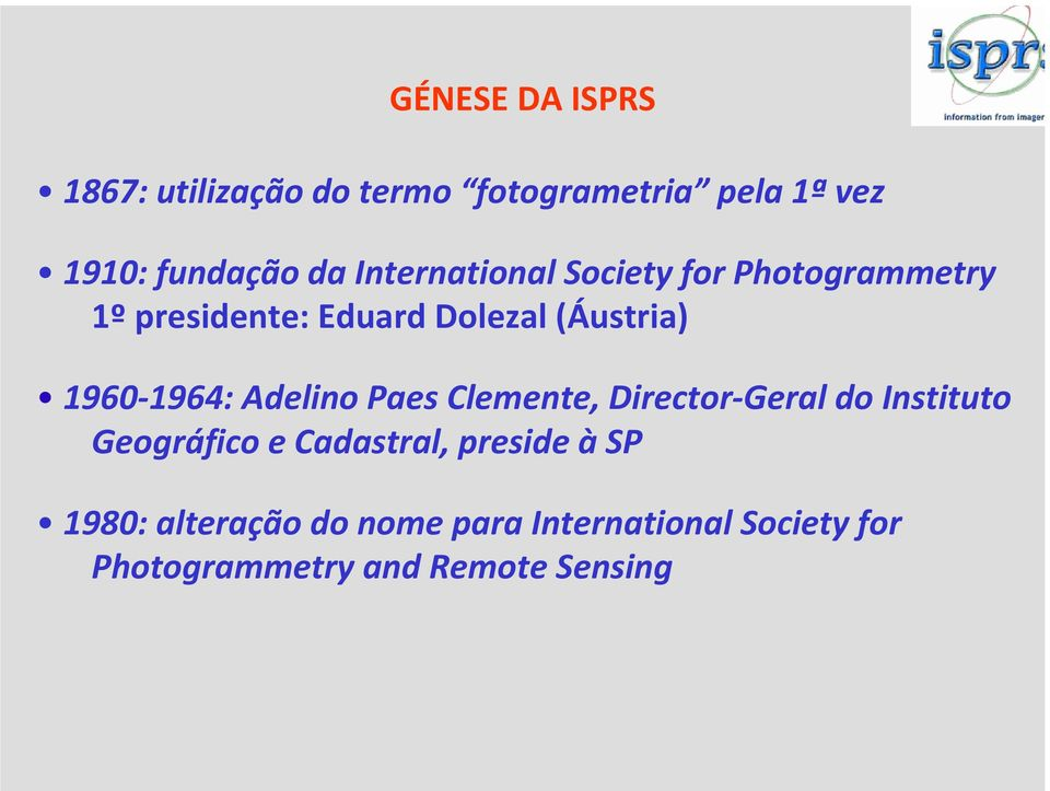1964: Adelino Paes Clemente, Director Geral do Instituto Geográfico e Cadastral, preside