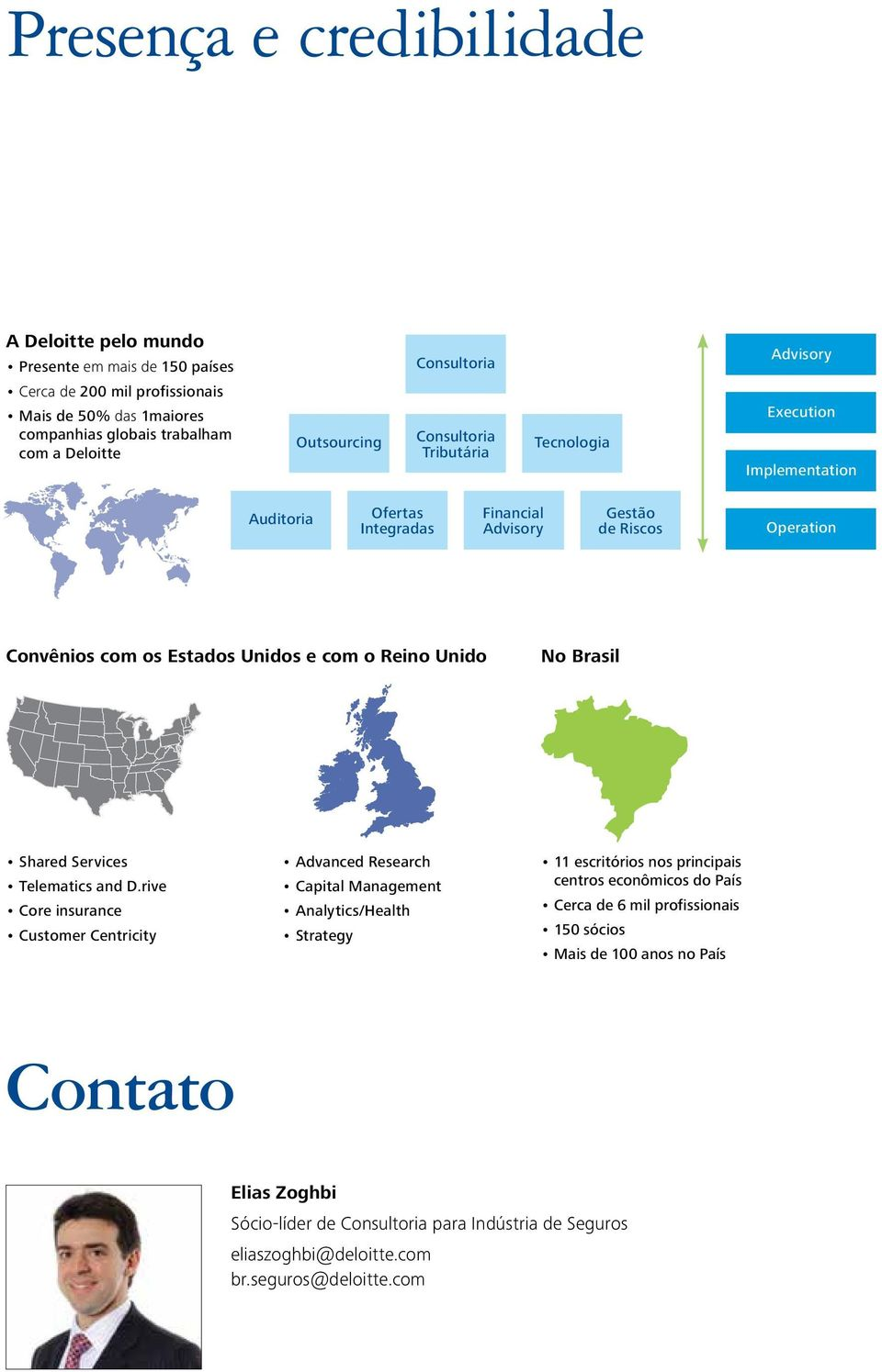 Reino Unido No Brasil Shared Services Telematics and D.
