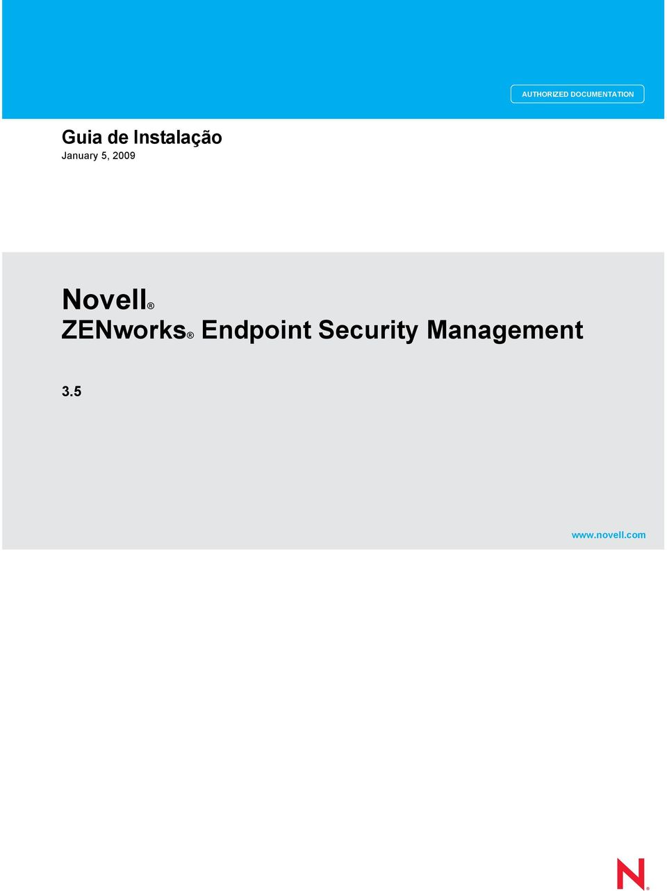Security Management 3.5 www.novell.