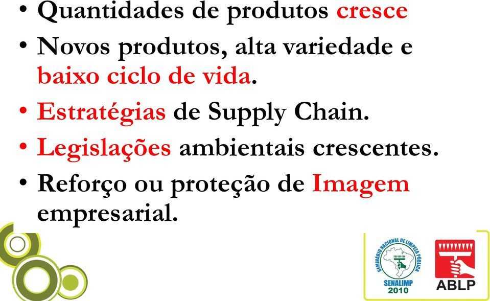 Estratégias de Supply Chain.