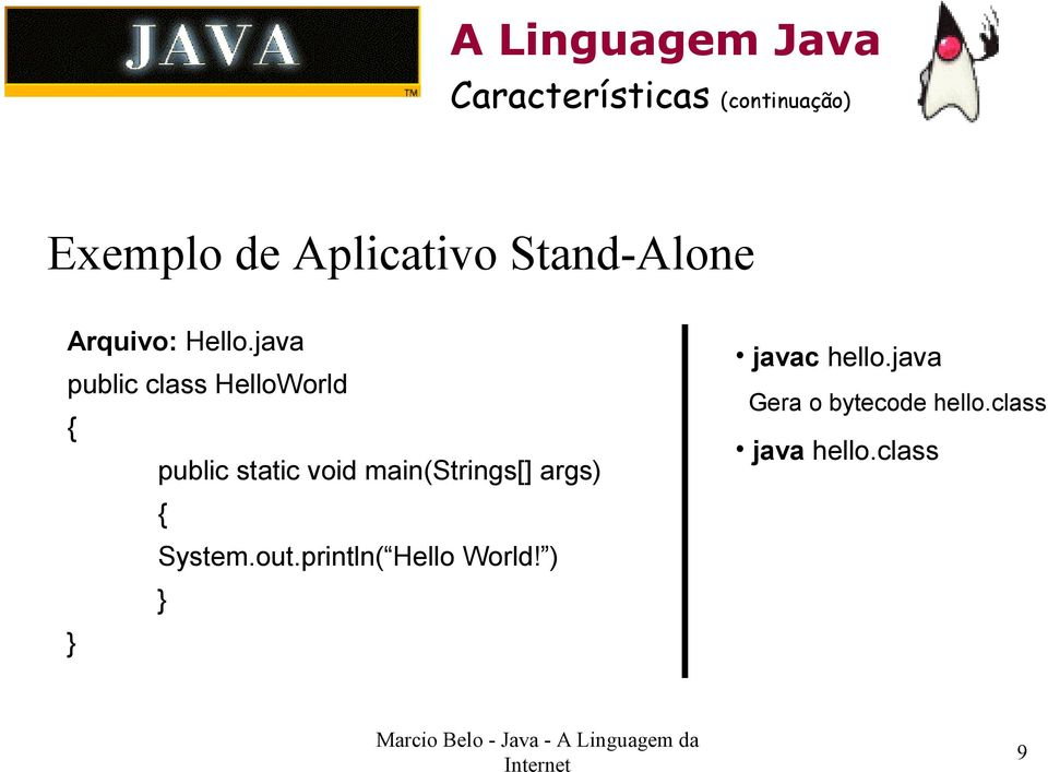 java public class HelloWorld { public static void