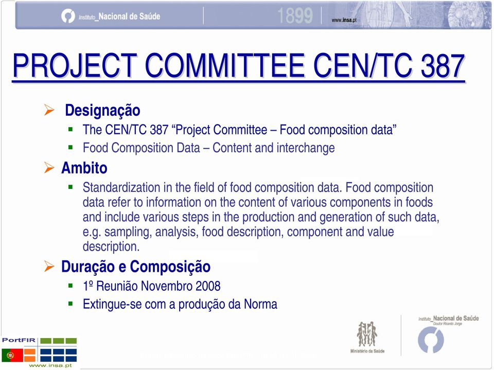 Food composition data refer to information on the content of various components in foods and include various steps in the