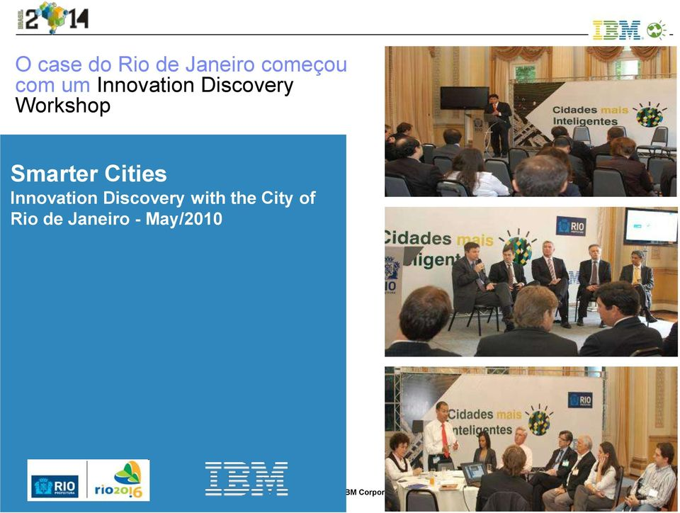 Cities Innovation Discovery with the City