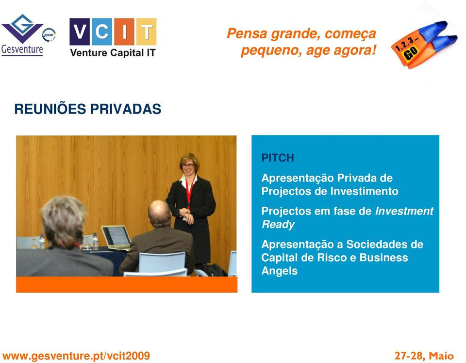 Projectos em fase de Investment Ready