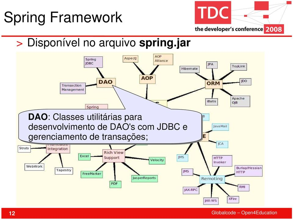jar DAO: Classes utilitárias para