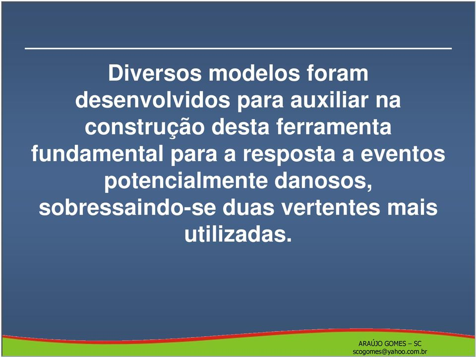 fundamental para a resposta a eventos