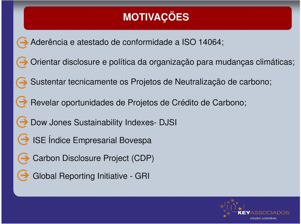 carbono; Revelar oportunidades de Projetos de Crédito de Carbono; Dow Jones Sustainability