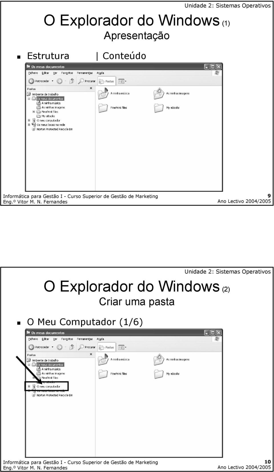9 O Explorador do Windows (2)