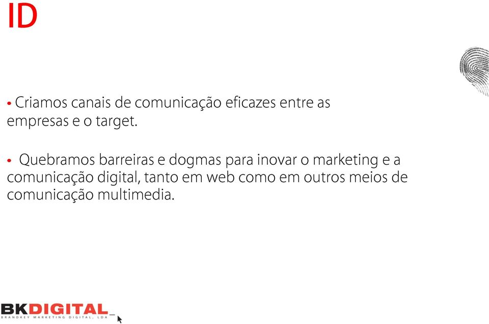 inovar entre o marketing as comunicação digital,