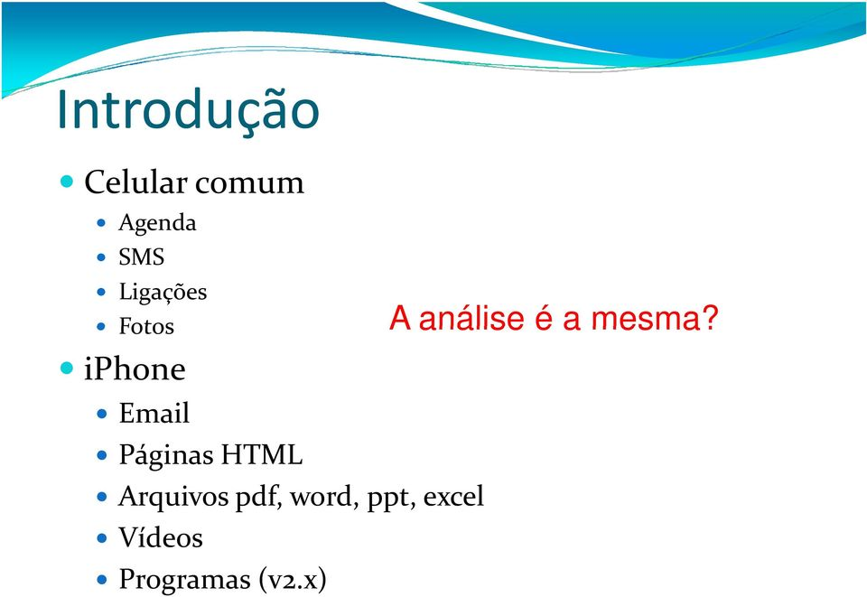 HTML Arquivos pdf, word, ppt, excel