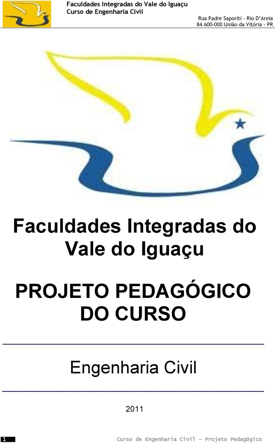 PEDAGÓGICO DO CURSO