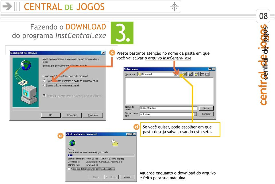 arquivo InstCentral.