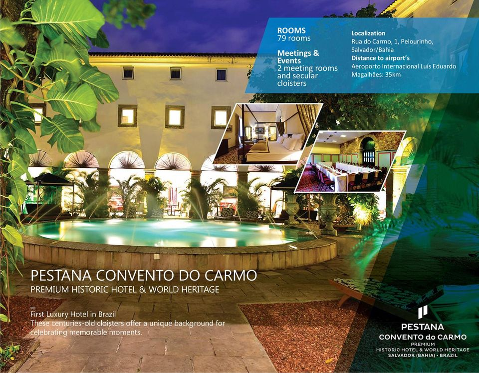CONVENTO DO CARMO PREMIUM HISTORIC HOTEL & WORLD HERITAGE First Luxury Hotel in