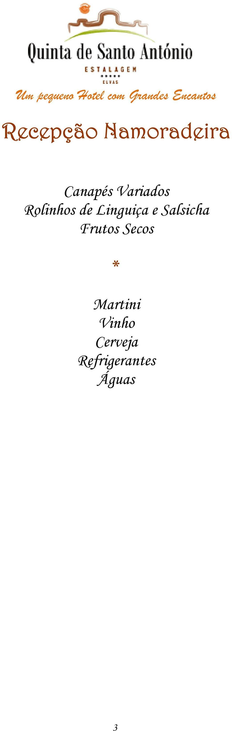 Salsicha Frutos Secos Martini
