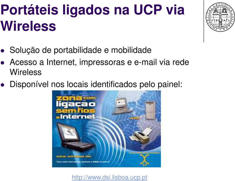 Internet, impressoras e e-mail via rede