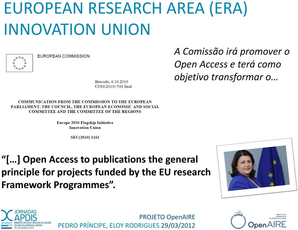 transformar o [ ] Open Access to publications the general