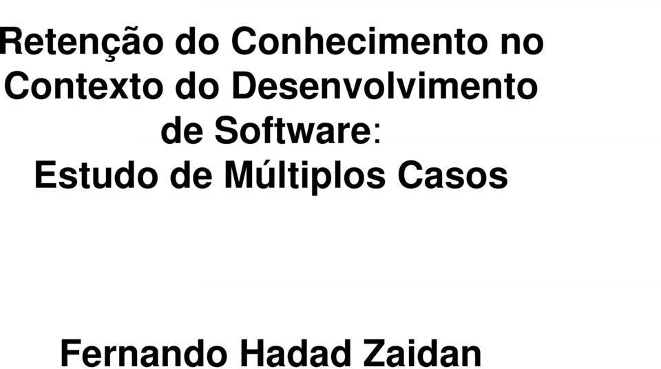 de Software: Estudo de