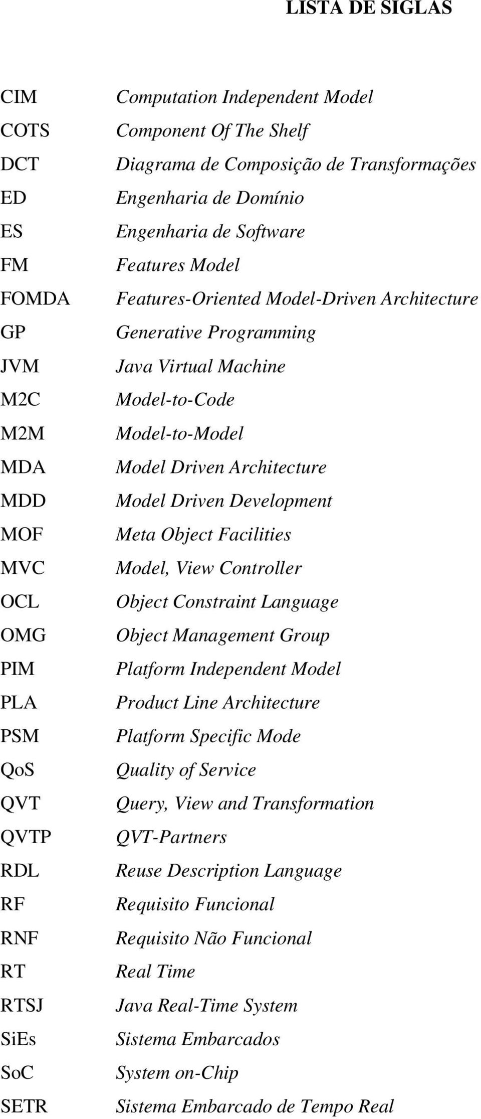 Model-to-Code Model-to-Model Model Driven Architecture Model Driven Development Meta Object Facilities Model, View Controller Object Constraint Language Object Management Group Platform Independent