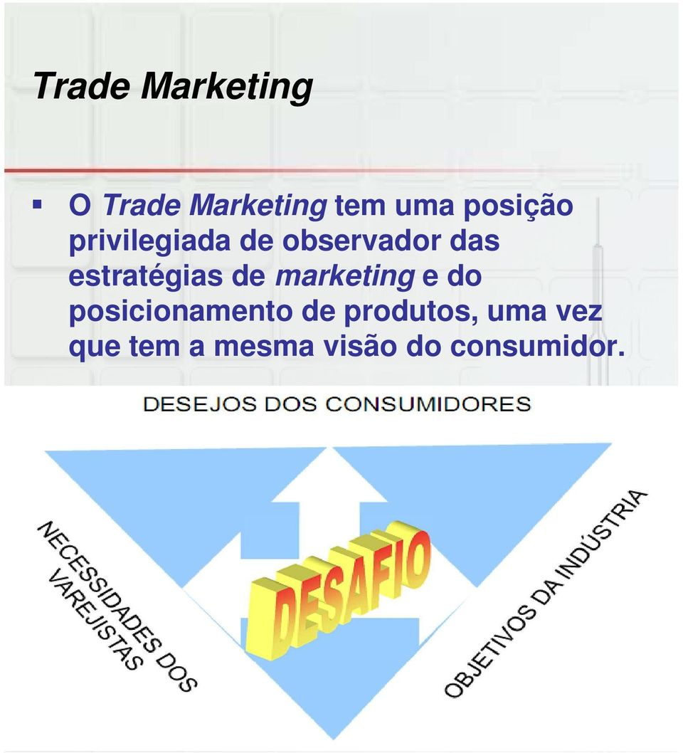 estratégias de marketing e do