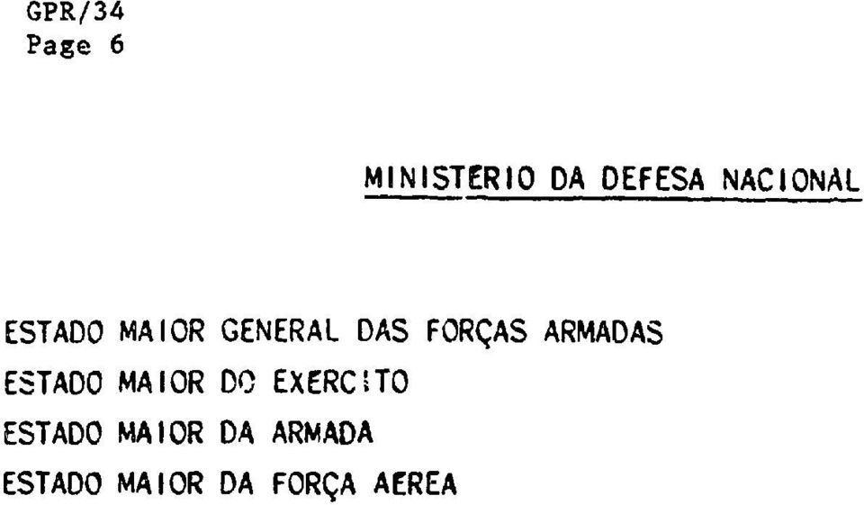 ARMADAS ESTADO MAIOR DO EXERCITO