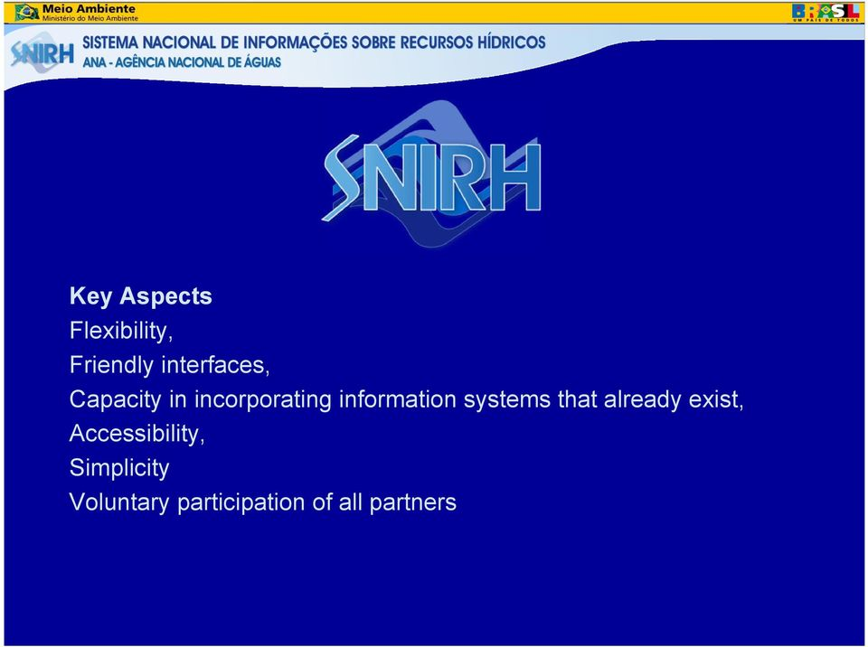 information systems that already exist,