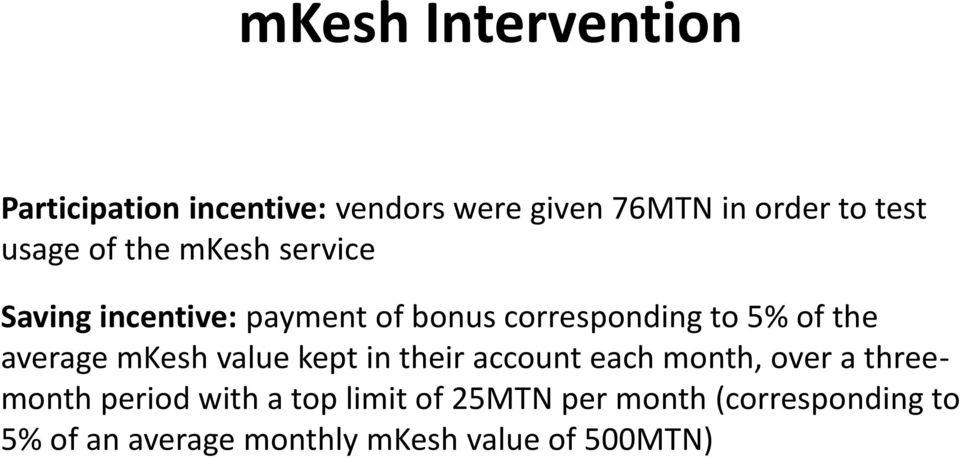 average mkesh value kept in their account each month, over a threemonth period with a