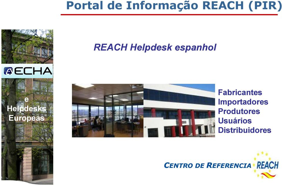 Helpdesks Europeas Fabricantes