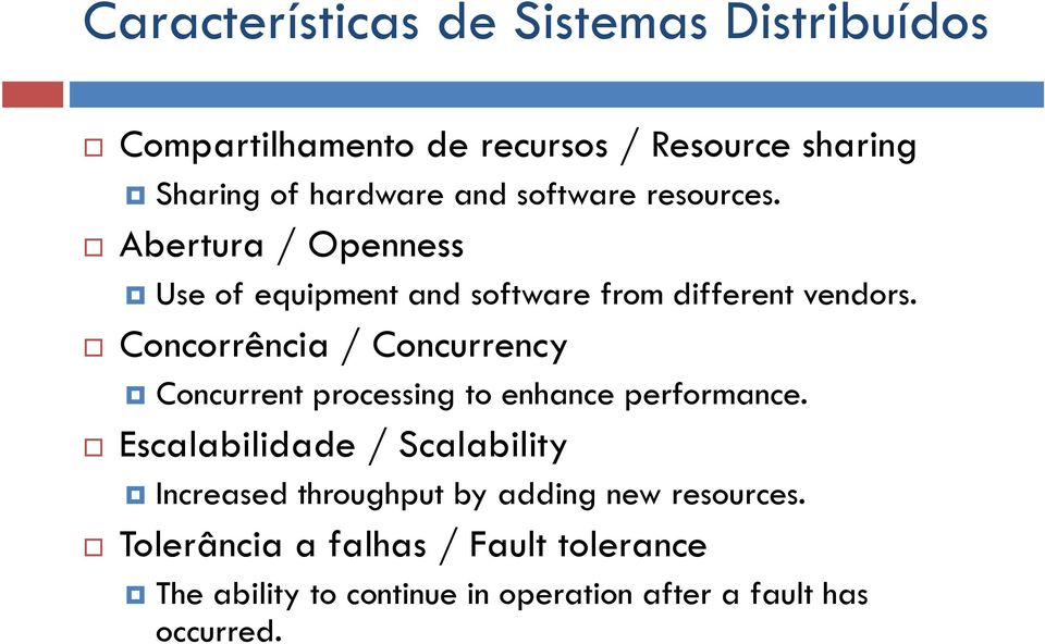 Concorrência / Concurrency Concurrent processing to enhance performance.