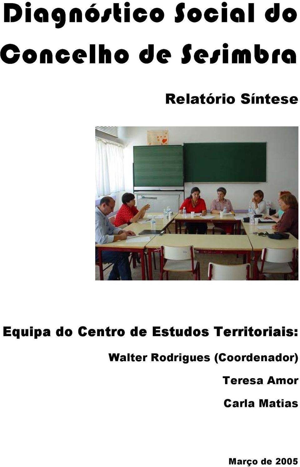 studs Territriais: Walter Rdrigues