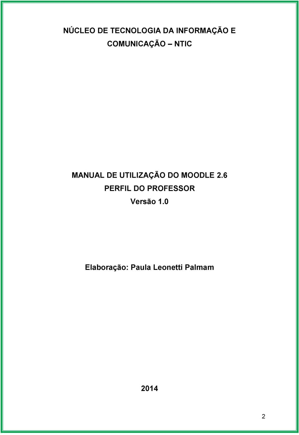 DO MOODLE 2.