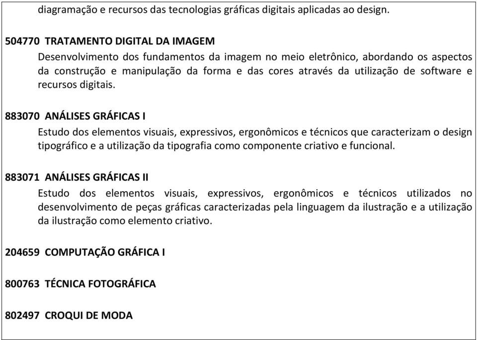 software e recursos digitais.