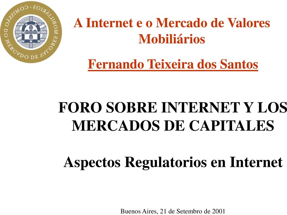 CAPITALES Aspectos Regulatorios en