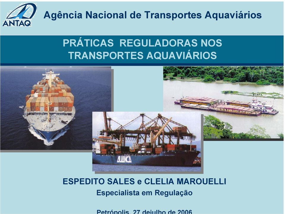 TRANSPORTES AQUAVIÁRIOS ESPEDITO