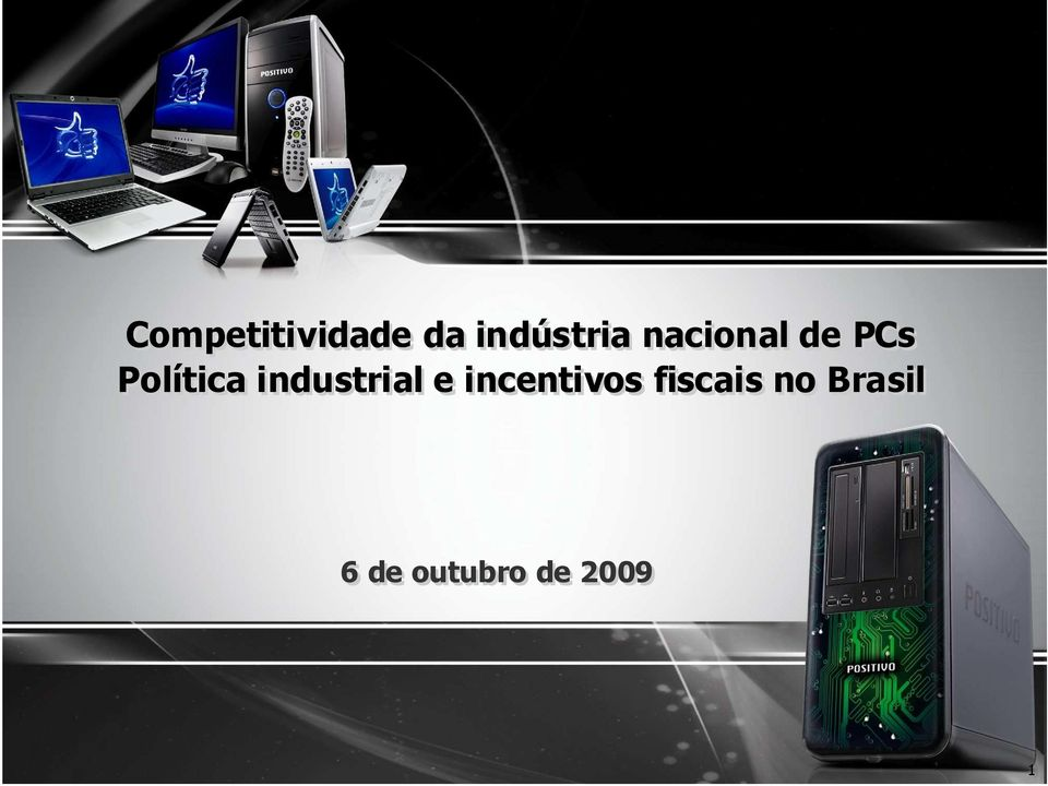industrial e incentivos
